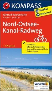 Nord-Ostsee-Kanal-Radweg: Fahrrad-Tourenkarte. GPS-genau. 1:50000. (KOMPASS-Fahrrad-Tourenkarten) ( Mai 2014 )