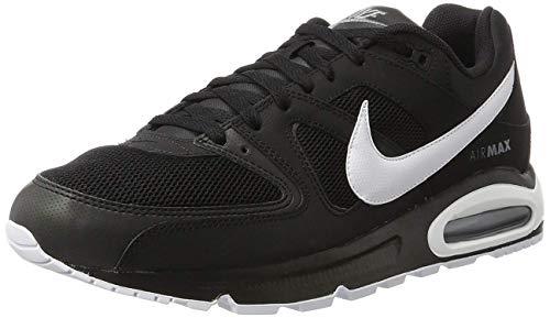 Nike Herren Air Max Command Sneaker, Schwarz (Black/White/cool Grey), 44 EU