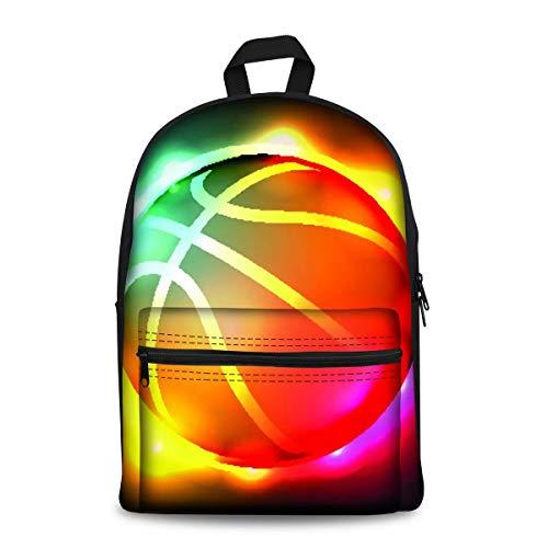 chaqlin Baseball-Schulranzen-Set für Teenager, Jungen, Grundschul-Rucksack aus Segeltuch mit Flaschenhalter, Studenten- und Büchertaschen, Marineblau Mehrfarbig Pattern-3 Einheitsgröße
