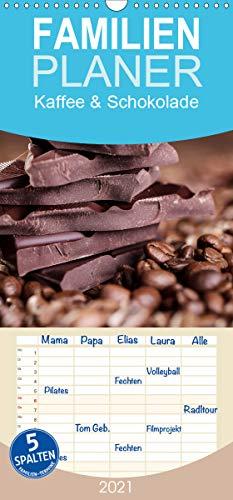Kaffee & Schokolade - Familienplaner hoch (Wandkalender 2021 , 21 cm x 45 cm, hoch): Ein schöner Kalender - Schoko und Kaffee (Monatskalender, 14 Seiten ) (CALVENDO Lifestyle)