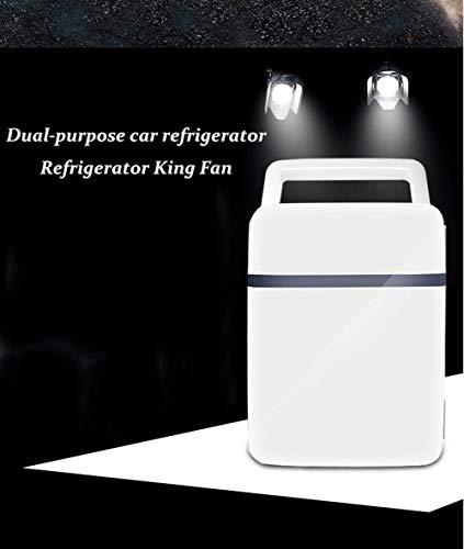 LVYI Kleine auto-koelkast, multifunctionele auto-verwarmings- en koelbox, kleine geschenk, auto draagbare koel- en verwarmingsbox