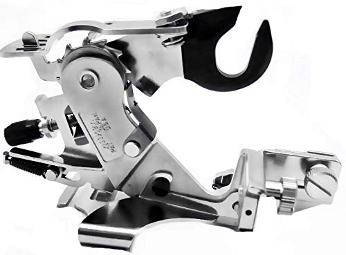 BlueArrowExpress Universal Adjustable Snap-on Ruffler Foot for Brother Sewing Machines Listed/Japan Made