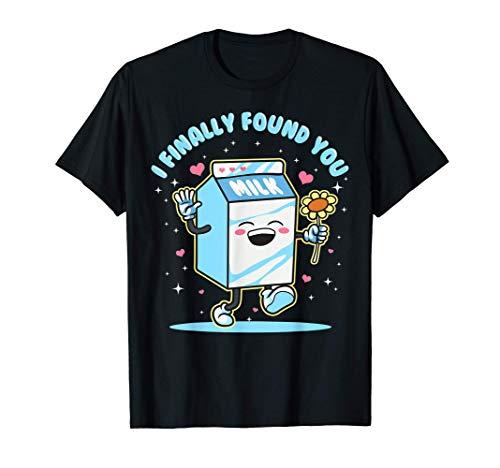Parejas Leche y Galletas Diseños para él Diseños Camiseta