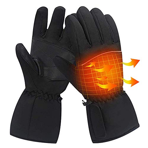 Heated Gloves Electric Heated Gloves Waterproof Insulated for Winter Warmer Outdoor Camping Hiking Hunting