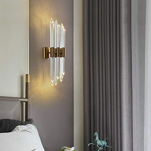 Applique Wall Light 16 * 60 cm américain Luxury Villa Hôtel restaurant Corridor Salon Salle d'étude