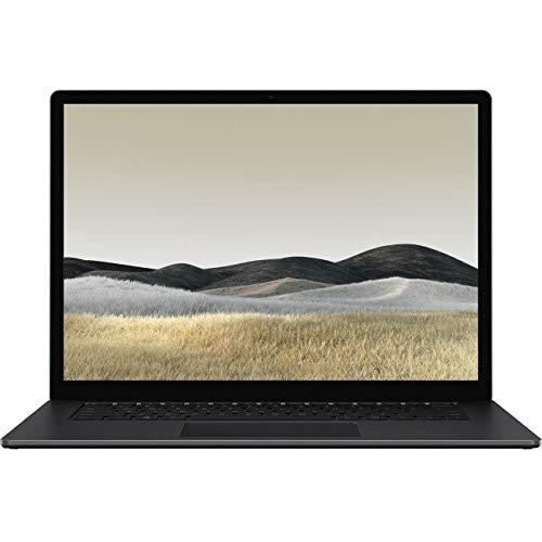 Microsoft Surface Laptop 3 13,5 polegadas Touch-Screen 256 GB SSD i5 8 GB com Windows 10 Pro (WiFi, 1,2 GHz Quad-Core i5) Preto (Metal) PKU-00022
