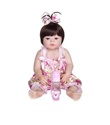 Bebê Reborn Menina de Silicone - Bebê Reborn Recém Nascido