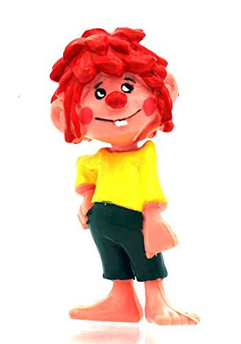 Pumuckl Kunststoff Figur mit Lausbub-Ausdruck im Gesicht von Heimo