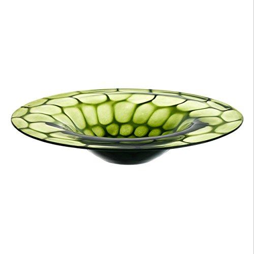 Leonardo - Schale, Obstschale - Gela - Farbe: Grün - handgefertigt - Ø: 35 cm