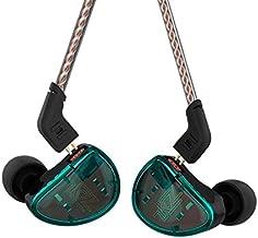 KZ AS10 Earbuds Pure 5 Balanced Armature 5BA Earphone, Musician in Ear Monitor Headphone High Fidelity HiFi Headset (No Microphone, Green)