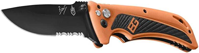 Gerber Bear Grylls Survival AO Knife, Assisted Opening, Drop Point [31-002530]
