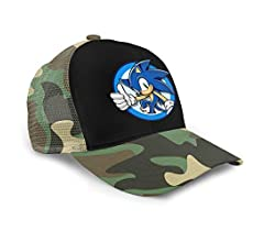 Jhanie Birrell Sonic The Hedgehog Kids Baseball Cap Adjustable Hip-hop Hat Outdoor Trucker Cap
