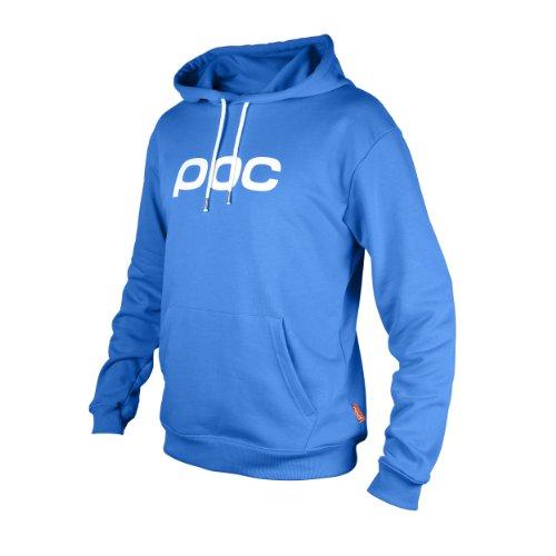 POC Hood - Felpa per Ciclismo, con Cappuccio, Blu (Thulium Blue), XL