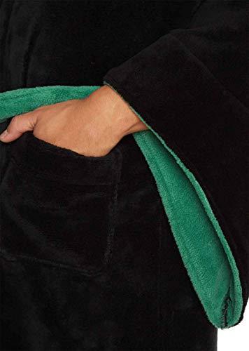 Groovy-Slytherin-Harry-Potter-Hooded-Bathrobe-Polyester-Black-One-Size