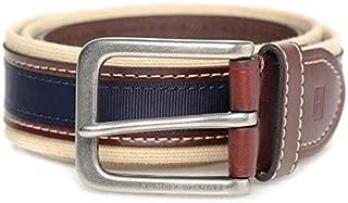 Tommy Hilfiger Navy Blue Canvas Belt For Men