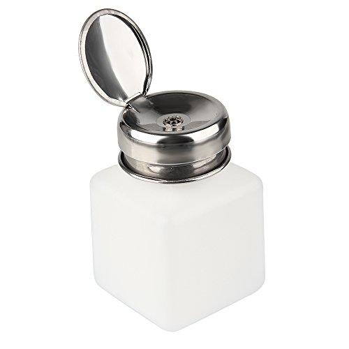 Beauty7 Flacon Pompe Distributeur Bouteille 100 ml Liquide pour Dissolvant Faux Ongle UV Gel Vernis a Ongles