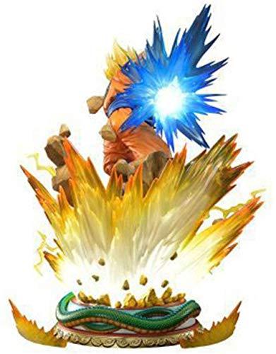 Modelo de estatuas de Anime Dragon Ball Son Goku Kakarotto Super Saiyan Avatar cambiante Figura de Anime 25 CM Recuerdos de Anime Coleccionables Artesanía Juguete Figuras de Anime