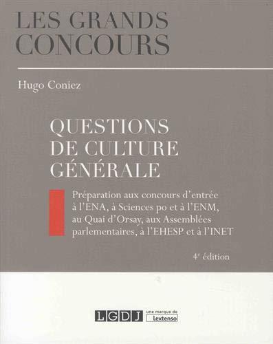 Questions de culture générale