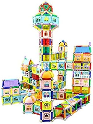 GLJJQMY Magnetische Montagebausteine  ür Magnetische Teile, Lernspielzeug, Montagebl e, F er Lernspielzeug für Kinder