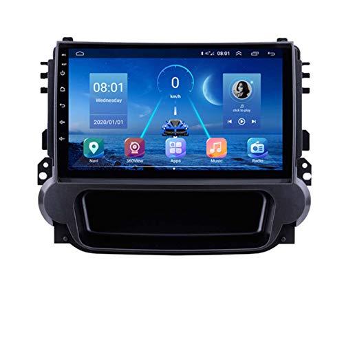GOHHK Coche Radio Android 9 para Chevrolet Malibu 2013-2015 Coche DVD Player Multimedia GPS Navegación 9 Pulgadas 360 Sony 225 Cámara Carplay(Size:Cuatro nucleos,Color:WiFi:2GB+32GB)