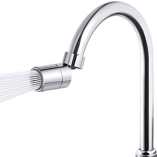 Samodra Aireador para grifo de agua, regulador de chorro, doble funcional, m22, gran ángulo ajustable, accesorio para cocina y baño (rosca interior)