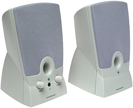 Harman Kardon HK19.5 2.0 Computer Speakers (2-Speaker, Grey)