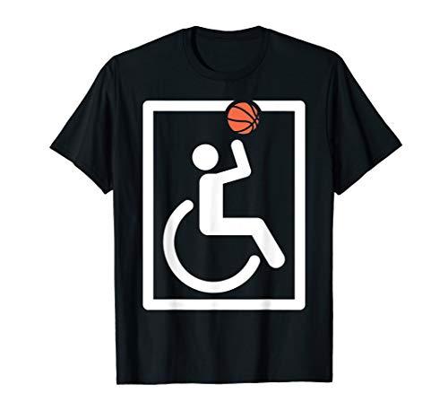 Rollstuhl Basketball Sport - Handball Rollstuhlfahrer Profi T-Shirt