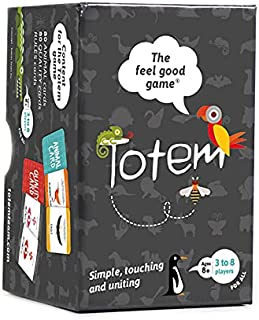 Totem the feel good game - Therapy Game for Team Building, Motivation, School, Family Bonding, Counseling, Mindfulness and...