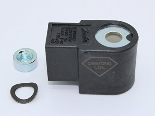 Danfoss NC-Spule 220/240 V T85 071N1006 Magnetspule Spule für Magnetventil an der Ölpumpe passend für BFP Pumpe