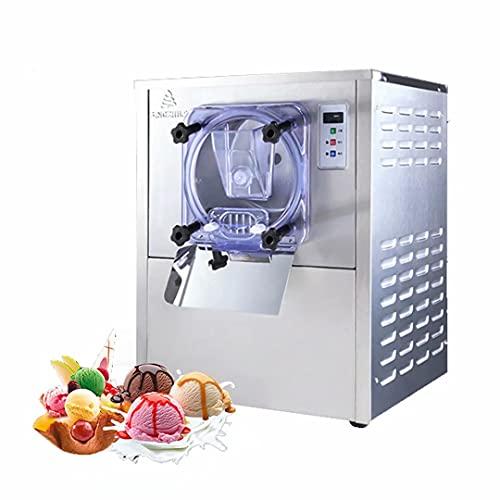 Máquina de helado duro: el producto está hecho de acero inoxidable y tiene buena resistencia a bajas temperaturas, resistencia al desgaste, resistencia a la presión, óxido y resistencia a la corrosión. Puerto de alimentación de una sola vez hecho de ...