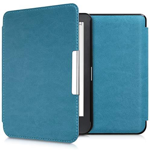 kwmobile Cover Compatibile con Kobo Clara HD - Custodia a Libro per eReader - Copertina Protettiva Flip Case - Protezione per e-Book Reader