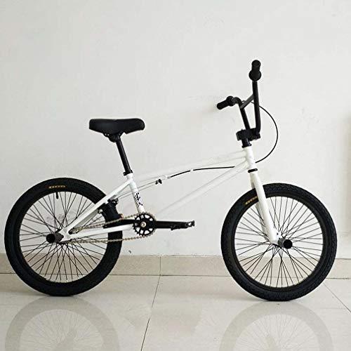 AISHFP Mini BMX Bike, principiante-Livello per i più esperti BMX Bici da Corsa, Leggero Alto tenore di Carbonio Telaio in Acciaio, 16-20-pollice Ruote, Vari Colori affinchè scelgano,D