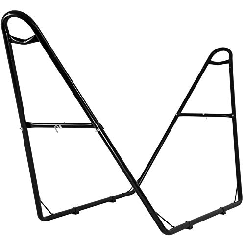 FDW Hammock Stand Heavy Duty Hammock Stand Only Steel Stand Indoor Hammock Stand Double Hammock Stand for Outdoor Patio