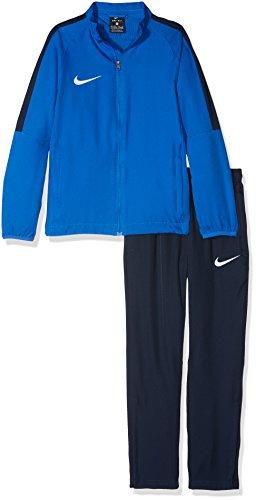 Nike Academy 18, Tuta Bambino, Blu (Royal Blue Obsidian/White 463), Large