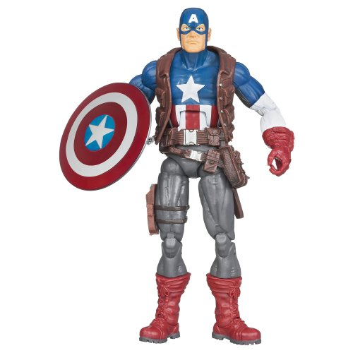 MARVEL LEGENDS 2013 WAVE 1 ULTIMATE CAPTAIN AMERICA 6\