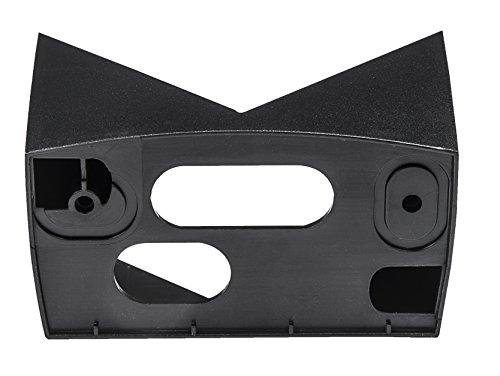 Steinel Eckwandhalter EWH 07 schwarz, für Infrarot-Bewegungsmelder IS 140-2, Adapter für schnelle Montagen an Außenecken