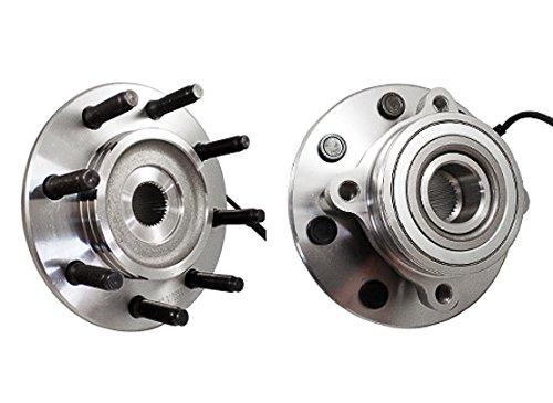Callahan 515061X2 [2] Pair FRONT Premium Grade [ 8 Lug 4X4 ABS SRW ] Wheel Hub Bearing Assemblies [ 515061 ]