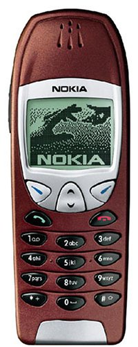 Nokia 6210 Handy red