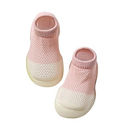 MoccyBabeLee Calcetines de casa para niños y niñas, ligeros, para interior y hogar
