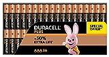 Duracell - Plus AAA, Pilas Alcalinas (paquete de 36) 1,5 Voltios LR03 MN2400