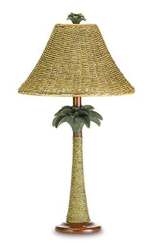 pantalla lampara mimbre fabricante Koehler