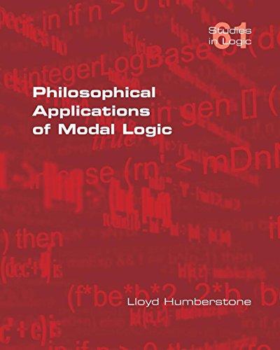 Philosophical Applications of Modal Logic