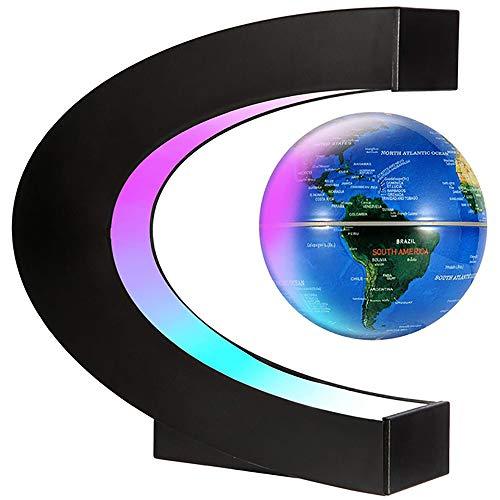 Siuber Levitación magnética de rotación automática Mapa Mapa DE Mapa Mundo, Levitación magnética Mapa del Mundo del Globo de la levitación magnética para el Aprendizaje