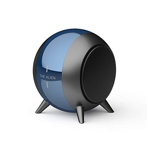 Altavoz Bluetooth inalámbrico, Altavoz Bluetooth, Audio de cañón de Metal, batería Dura 6H, Altavoz Recargable estéreo Super Bass, una tecla para Responder Las Llamadas