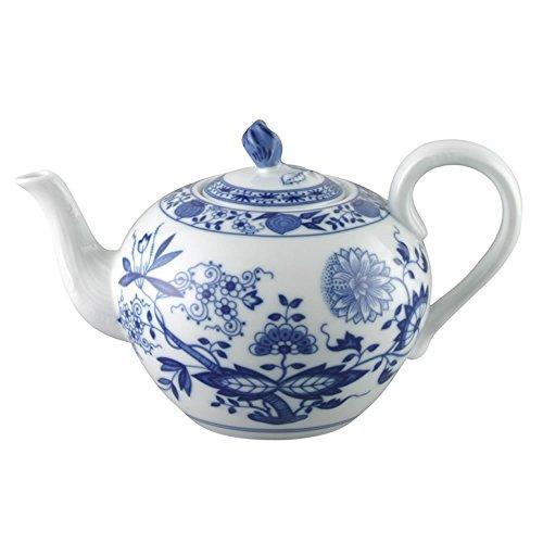 Hutschenreuther 02001-720002-14230 Zwiebelmuster Teekanne 6 Personen, 1,00 L, blau