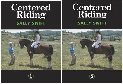 Centered Riding 1 & 2 - Dvd Set of 2 - By Sally Swift - Horse Training Dvd
