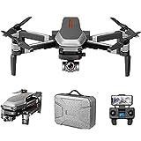 GZTYLQQ Drone Quadcopter con cámara de Video en Tiempo Real, Quadcopter WiFi FPV con 120 Grados;Cámara FOV 1080p HD Drone Plegable RTF -25 Minutos de Tiempo de Vuelo, retención de altitud,