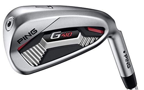PING G410 Black Dot Iron Set (4-PW, UW) (Left, AWT 2.0 Steel, Regular)