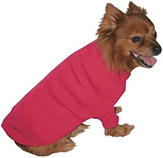 Vo-Toys Doggie Duds Traditional Sweater Fuchsia, X-Small