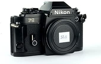 Nikon FG 35mm Film SLR Camera Black Body